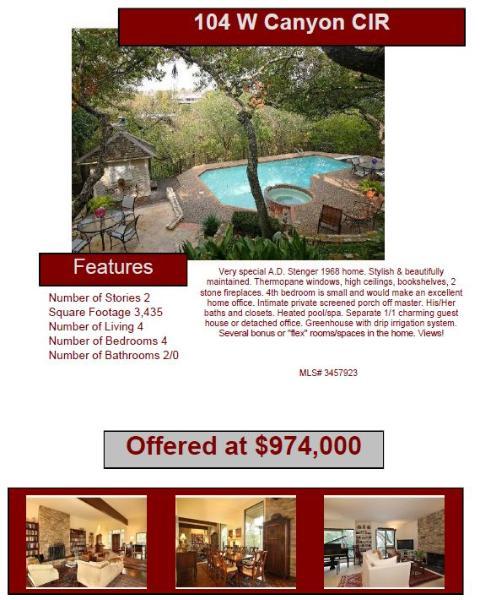 Austin Cool Properties Sales